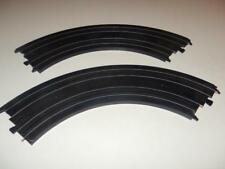Tyco- Ho Scale Slot Car Accessory - 2 Curves- 1/4 Circle - Exc- W44E