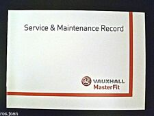 Vauxhall SIGNUM Service History Record Book Brand New Genuine no stamps