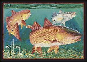 Milliken Guy Harvey Redfish Area Rug