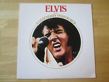 Elvis Presley LP, A Legendary Performer Volume 1, 1986 RCA # CPL1-0341