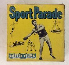 Castle Films Sports Parade 332 Dare Devils On Ice 16mm Headline Edition -TCC