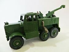 DINKY 661 'SCAMMELL RECOVERY/TOW TRACTOR' ARMY/MILITARY. VINTAGE. COMPLETE. VGC.