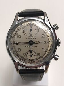 Pierce Vintage Chronograph Wristwatch