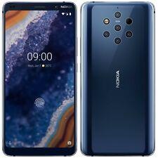 """Nokia 9 PureView TA-1087 128GB 6GB RAM (Desbloqueado en Fábrica) 5.99"""" Azul de medianoche"""
