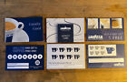 3 Sets Of 300 Lavazza Italian Coffee Shop Loyalty Cards Cappuccino Cafe Expresso