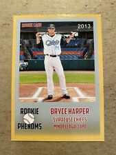 BRYCE HARPER 2013 Rookie Phenoms minor league card. Syracuse Chiefs.