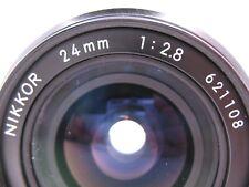 Nikon 2.8 24mm AI Lens