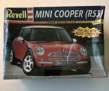 REVELL MINI COOPER R53 MODEL KIT NEW SURPLUS UNOPENED SHRINK WRAP SEALED BOX