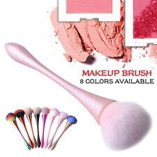 light pink Mineral Powder Brush Soft Fluffy Foundation Brush Hightlight Blush AL