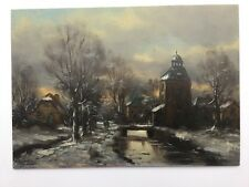Dutch Oil Painting  Mid 1920s