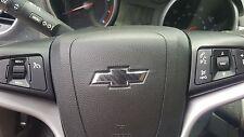 2014-2017 Chevy SILVERADO Steering Bowtie Wheel 3D CARBON FIBER Decal Overlay
