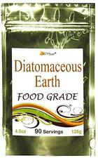 ~ Food Grade ~ DIATOMACIOUS EARTH Colon Cleanse Bowel Parasites Detox 90 Serving