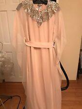 Oscar de la Renta Pale Pink Silk Long Gown Originally $3690