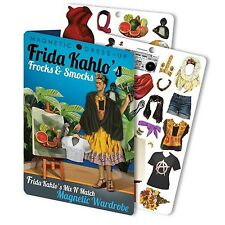 FRIDA'S FROCKS AND SMOCKS magnetic dress-up set Kahlo