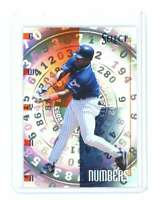 1998 Pinnacle Select Numbers Bankruptcy Test #8 TONY GWYNN san diego padres