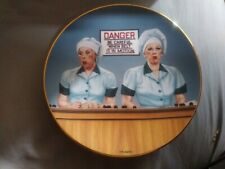 Hamilton Collection I Love Lucy Eating The Evidence Plate Lucy Ricardo Ball