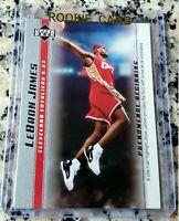LEBRON JAMES 2003 Upper Deck SP #1 Draft Pick Rookie Card RC Finals MVP Lakers $