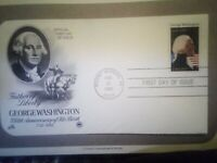 George Washington 1982 First Day Cover Folio Mint condition.