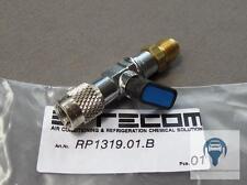Kältemittel Kugelventil mit Drehanschluss 5/16 SAE X 1/4 SAE für Klimaservice