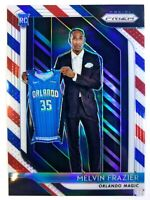 2018-19 Panini Red White Blue Prizm Melvin Frazier Rookie RC #109, Refractor
