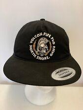 Volcom Pipe Pro North Shore Hawaii Hawaiian Surfing Contest Black Trucker Hat