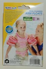 Child Youth SWIMSCHOOL Dual Chamber ARM FLOATS For 30-55 lbs Level 3 One Pr NIB*