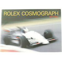 VINTAGE ROLEX COSMOGRAPH DAYTONA ENGLISH BOOKLET FROM 1990