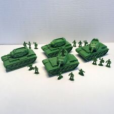 Disney Toy Story Green Army Tank Lot Complete With Figures