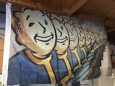 GIANT 5' FALLOUT 4 PIP-BOY 2000 VAULT BOY MARCH FLAG GAME XBOX PLAYSTATION PC
