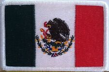 MEXICO Flag Patch With VELCRO® Brand Fastener Military Tactical Emblem #19