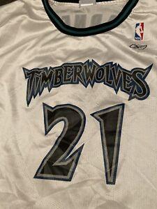 KEVIN GARNETT Minnesota Timberwolves 2XL length+2 Vintage NBA JERSEY