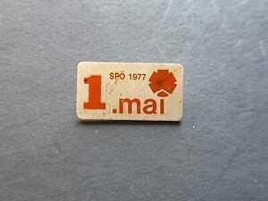 1.Mai-Abzeichen SPÖ  1977