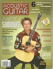 Acoustic Guitar (magazine)  July 2006- Andy Summers / Roseanne Cash