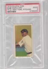 1914 T213 - 2 COUPON CIGARETTES RUBE MARQUARD NEW YORK PITCHING PSA 2 HOF