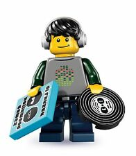 Lego minifig series 8 dj vj turntables vinyl records mixer speakers lights decks