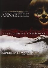 ANNABELLE + THE CONJURING PACK DVD NUEVO ( SIN ABRIR ) 2 PELICULAS TERROR