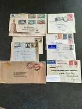 Southern Rhodesia FDC and Covers, 2 FDC, 5 Covers and 1 Experimental Flight 1931