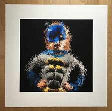 Marcus Harvey Batman Glass Painting Series