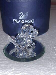 swarovski crystal Dog In Original Box