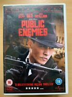 Public Enemies DVD 2009 John Dillinger True Life Gangster Crime Movie Classic