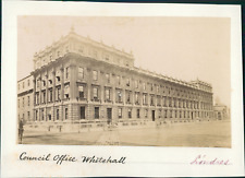 Angleterre, Londres, Council office of Whitehall, ca.1875, vintage albumen print