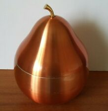 Retro Vintage Kitsch Anodised Copper Pear Ice Bucket Daydream Production