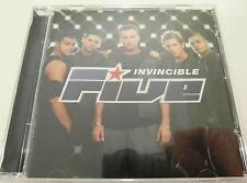Five - Invincible - CD Album 1999 - Used very good