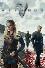 Vikings Blood Television show 24x36 poster History Channel Ragnar Rollo Aslaug!!