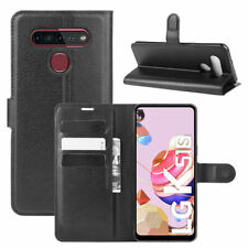 For LG K51S / K41S Classic Magnetic PU Leather Flip Wallet Case Stand Cover