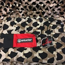 New Spyder Paintball Barrel Blocking Device - Red