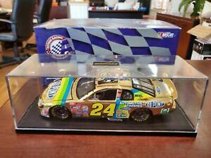 1998 Jeff Gordon #24 Dupont 3 Champion GOLD + Case 1:24 NASCAR Action MIB