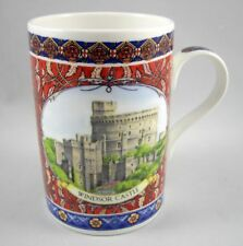 James Sadler Tour of Britain Windsor Castle Coffee Mug Cup Fine Bone China 4""