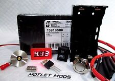Box Mod,Kit DiY 1591B*510 Connector*3034 Mosfet*voltmeter*18650 Sled*Motley Mods