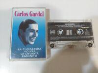 CARLOS Gardel Grandes exitos The Cumparsita Return 1996 - Cinta Tape Cassette